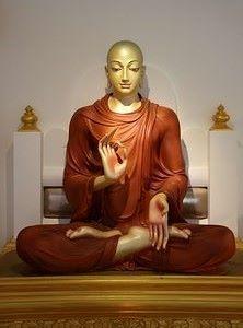 Bouddha Assis en Lotus, Bénédiction, Méditation, Paix et Harmonie